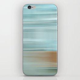 Life (Aqua and Burnt Rose) iPhone Skin