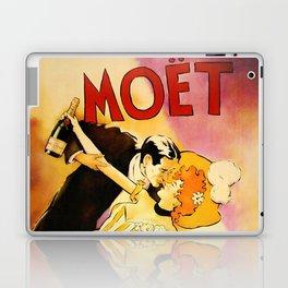 Vintage Moet Champagne Advertising Wall Art Laptop & iPad Skin