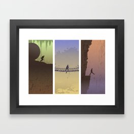 Fortune & Glory Framed Art Print