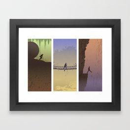 Fortune & Glory Framed Art Print