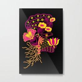 The Florist (Black) ! Metal Print