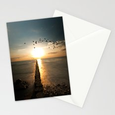Northern coast Stationery Cards