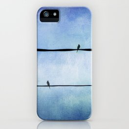 Sing me a Love Song iPhone Case