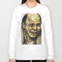 princess bride Long Sleeve T-shirts featuring Vizzini from Princess Bride by Aaron Bir