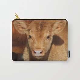 Portrait of a Calf Carry-All Pouch
