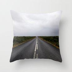 a way down Throw Pillow