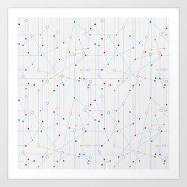 The network Art Print