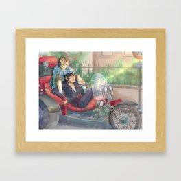 Kuroo Tetsuroo and Kenma Kozume Framed Art Print