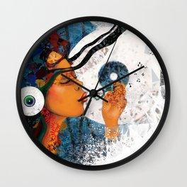 birth of a tune Wall Clock