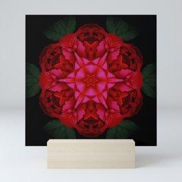 Red Rose Kali Mini Art Print