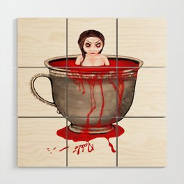 Cup of Blood Wood Wall Art