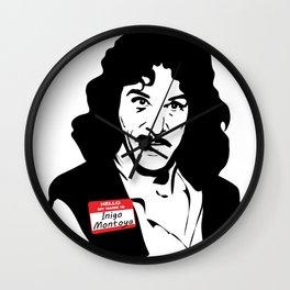 Hello, My Name is Inigo Montoya Wall Clock