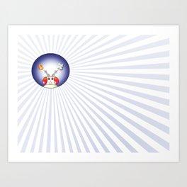 FlyFlag! Art Print