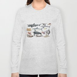 Marine wildlife Long Sleeve T-shirt