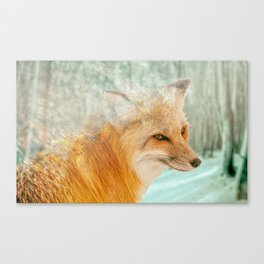 Spirit Fox Canvas Print