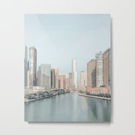 Chicago Illinois Metal Print