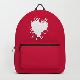 Splatter Heart Backpack
