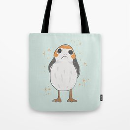 Space Porg Tote Bag
