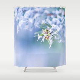 Bitter Cold, Milky Mist Shower Curtain