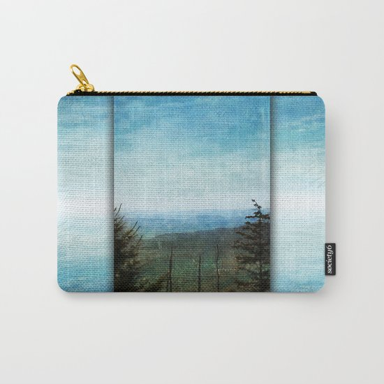 View from Clingman's Dome Tennessee Smoky Mountains Carry-All Pouch