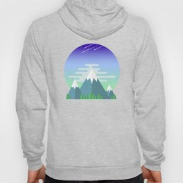 Space Mountains Hoody