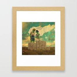 """Oracle Binary"" Framed Art Print"