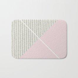 Diagonal Bath Mat