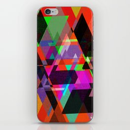Decor Geometric triangles iPhone Skin