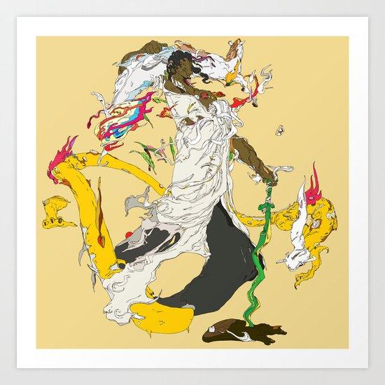 素戔男 - SUSANOO Art Print