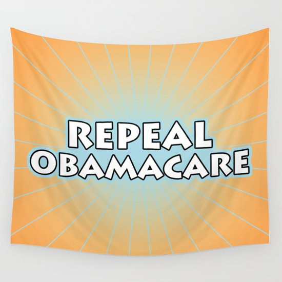 Repeal Obamacare Wall Tapestry
