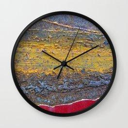 Colors of Rust 824 / ROSTart Wall Clock