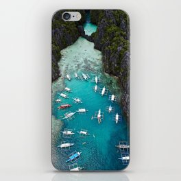 Island hopping in the Philippines iPhone Skin