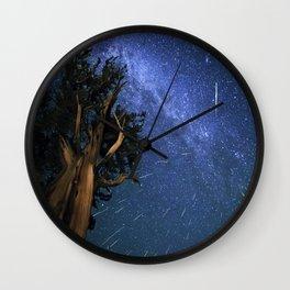Perseid Meteors Wall Clock