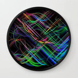 come dance in the light Wall Clock