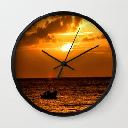 I Want To Live As I Have Never Lived Wall Clock