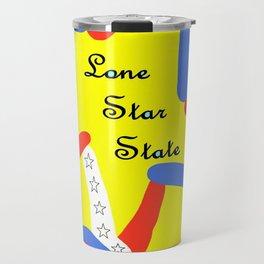 Lone Star State of Texas Travel Mug