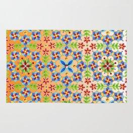 Decorative Tangerine Gothic Rug