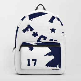 AMERICA FuuCK YEAH EAGLE T-SHIRT Backpack