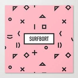 SURFBORT Canvas Print