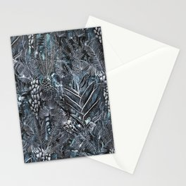 Busy Forest Print Stationery Cards