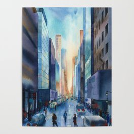 New York. Streets Poster