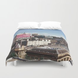 Glasgow with a view Duvet Cover