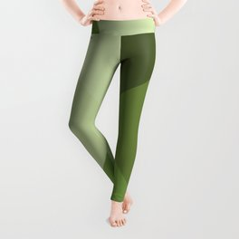 Green Square Leggings