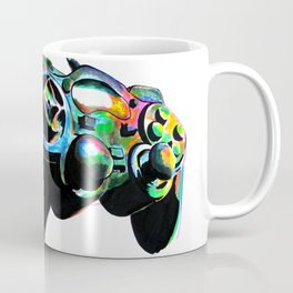 Gamepad fluorescente playstation Coffee Mug