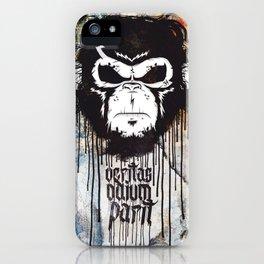 Veritas Odium Parit iPhone Case