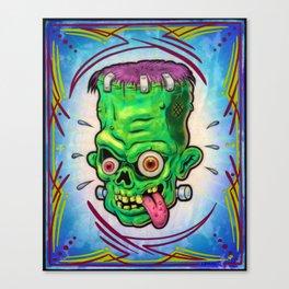 FrankenHead Canvas Print