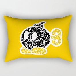 Bob Omb #CrackedOutBadGuys Rectangular Pillow