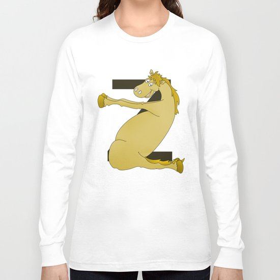 Monogram Z Pony Long Sleeve T-shirt