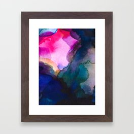 Color layers 4 Framed Art Print