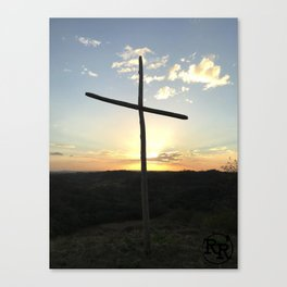 Ruby Ranch Cross Canvas Print